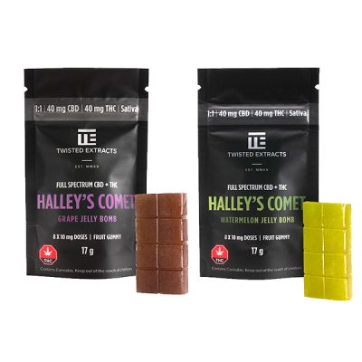 Twisted Extract - Halley's Comet Jelly Bomb 1:1 (Sativa)